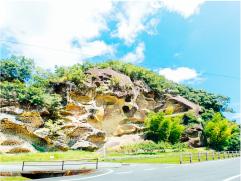 虫喰岩の画像