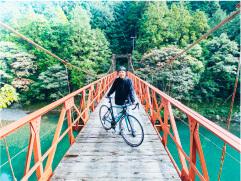 サイクリング体験Report