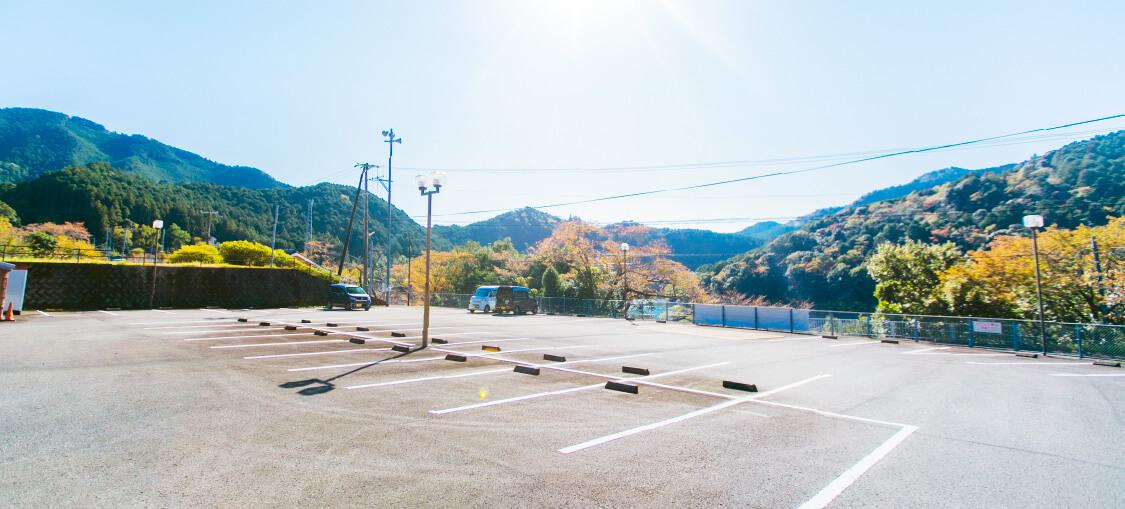 佐田・七川ダム周回ルート出発・到着場所
