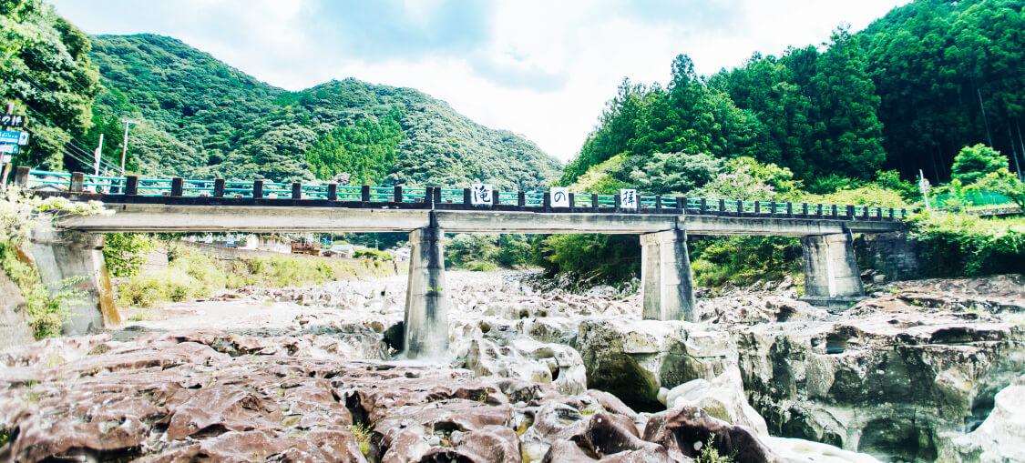 滝の拝ルート目的地