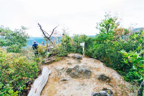 雄嶽山頂(376m)の画像