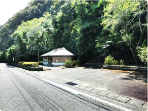 [道の駅一枚岩monolith]駐車場の画像