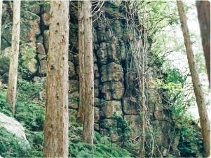 豆腐岩の画像