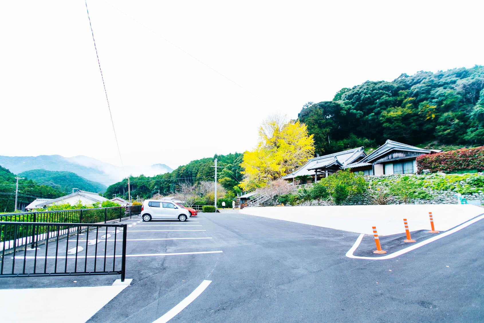 光泉寺の駐車場の画像
