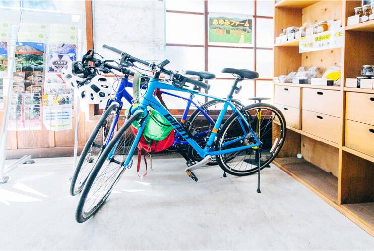 七川ふるさとづくり協議会夏目商店のレンタサイクルの画像