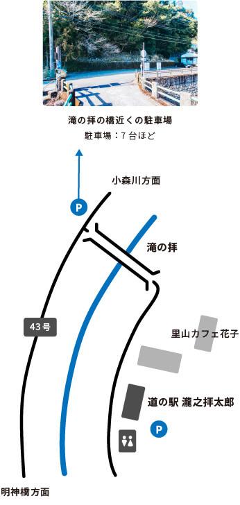 スマートフォンの道の駅瀧之拝太郎の画像