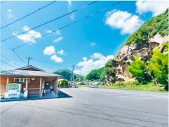 道の駅虫喰岩の画像